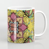Tan Mandala Mug
