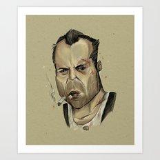 Die Hard - John McClane Art Print