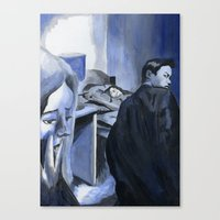 Heart Of The Detective Canvas Print
