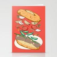 Vietnamese Sandwich Fall… Stationery Cards