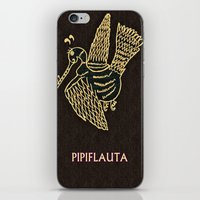 PIPIFLAUTA iPhone & iPod Skin