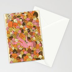 Crowd Surfer Stationery Cards