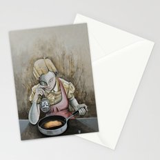 I keep making the same omelette Stationery Cards