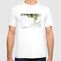 Plantas Mens Fitted Tee White SMALL