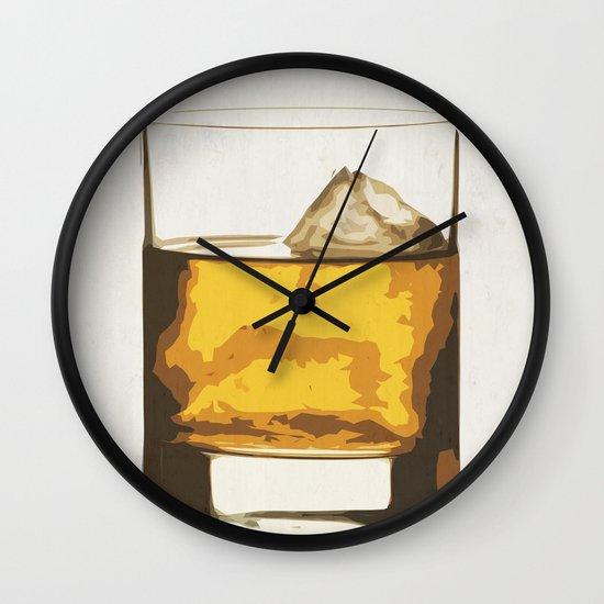Old Scotch Whiskey Wall Clock