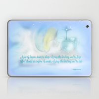 NOW I LAY ME DOWN TO SLEEP...BY SHERRIOFPALMSPRING Laptop & iPad Skin