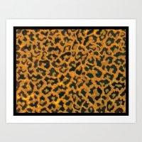 Leopard Skin Art Print