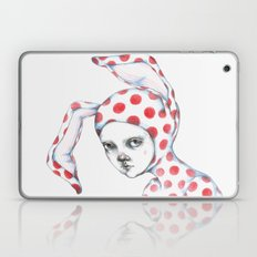 Red Dotted Bunny Laptop & iPad Skin