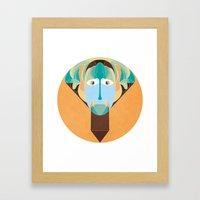 Lok Framed Art Print