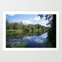 Sunny Days At The Spot Art Print