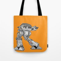 15 seconds to comply Tote Bag
