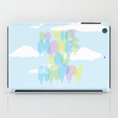 Do What Makes You Happy iPad Case