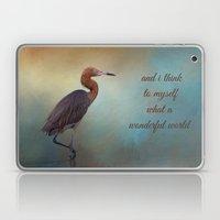 Wonderful World Laptop & iPad Skin