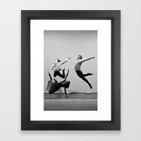 Bodyvox Two Framed Art Print