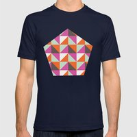 Hazel Mens Fitted Tee Navy SMALL