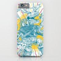 iPhone & iPod Case featuring Blitzkrieg Hop by Chris Carfolite