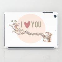 I Love You iPad Case