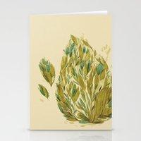 Leafy Stationery Cards