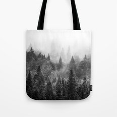 The Visionary Echo BW #s… Tote Bag