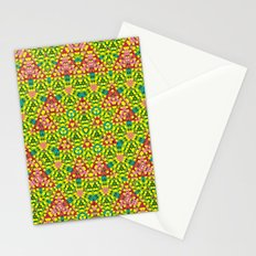 colored structure Stationery Cards