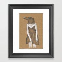 ANIMAL INSTINCTS -BIRD G… Framed Art Print