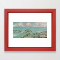 Castaways Framed Art Print