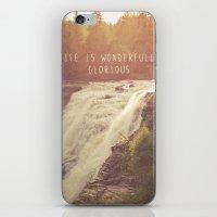 wonderful waterfalls iPhone & iPod Skin