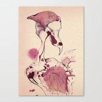 Hoploid Heron Canvas Print