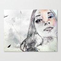 A Girl Named K Canvas Print