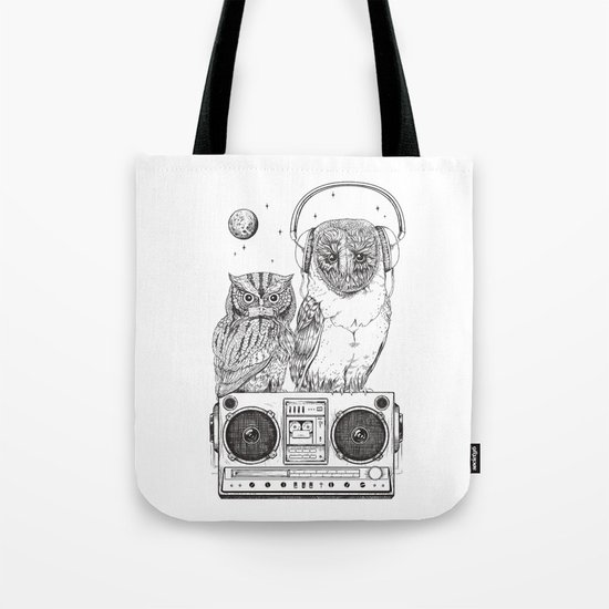 Silent Night ANALOG zine Tote Bag