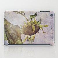 rural sky sunflower iPad Case