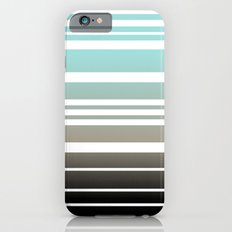 Bay Ombre Stripe: Dusty Morning Slim Case iPhone 6s