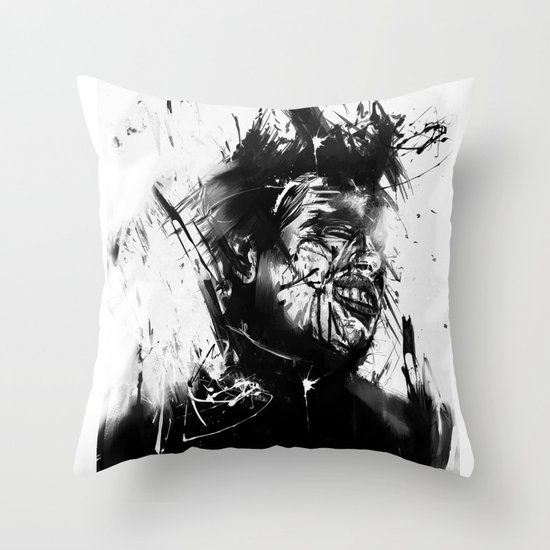 glasswall Throw Pillow