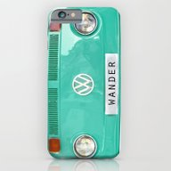 iPhone & iPod Case featuring Wander Wolkswagen. Summe… by Guido Montañés