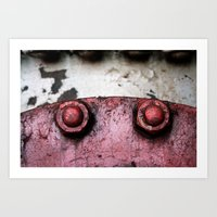 Turn To The Right Art Print