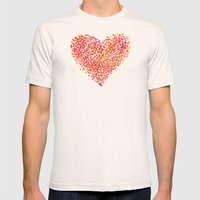 Love is Colorblind Mens Fitted Tee Natural SMALL
