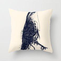 The Songbird Throw Pillow