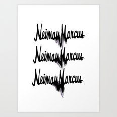 NM drips Art Print