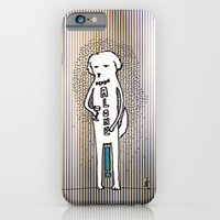 iPhone & iPod Case featuring Alone by giuditta matteucci
