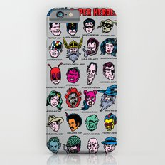 The Hall of Cliché Super Heroes iPhone 6s Slim Case