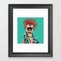 Pepe The King Prawn Framed Art Print
