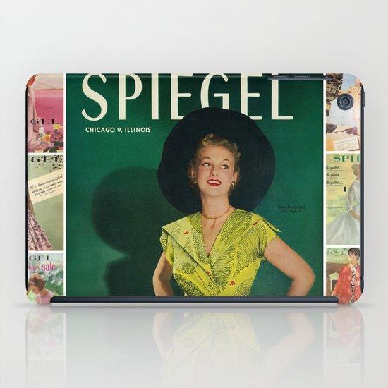 1951 Spring/Summer Catalog Cover iPad Case