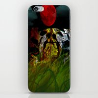 Tiger In The Night Under… iPhone & iPod Skin