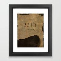 No. 6. 221B Framed Art Print