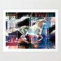 horse 02 Art Print
