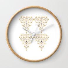 Geometric Diamond Wall Clock