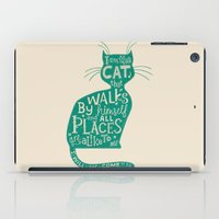 'The Cat That Walked by Himself' iPad Case