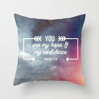 my hope Throw Pillow