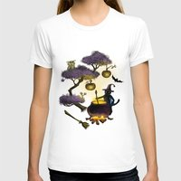 halloween T-shirts featuring Halloween by Anna Shell