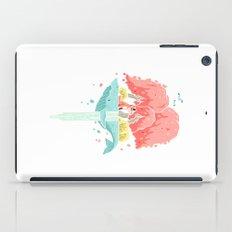 Whale Island iPad Case